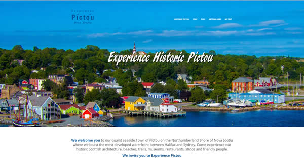 Experience Pictou website link