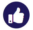 Thumbs up image for testimonials